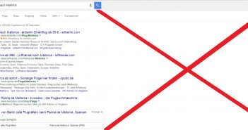Desktop Anzeigen von Google