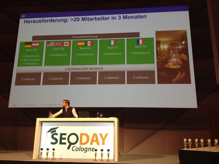 SEO-Day: 1&1 Digital guide