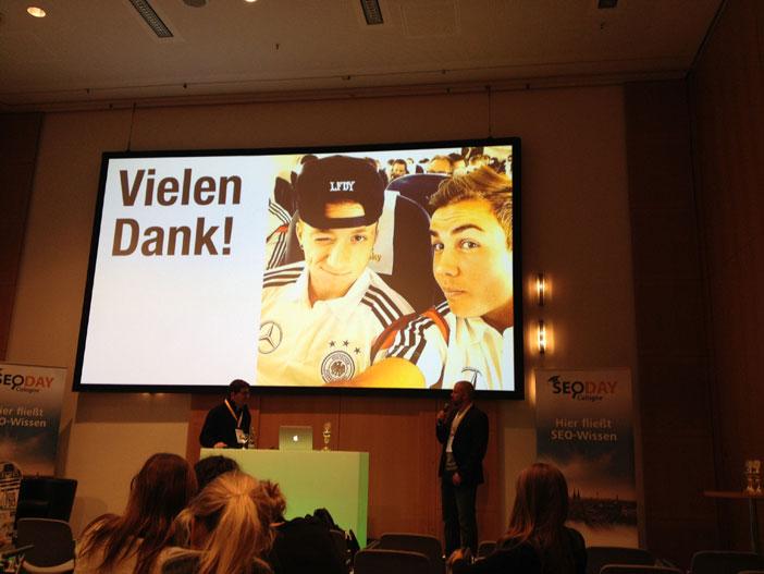 LFDY Werbebotschafter Marco Reus und Mario Götze