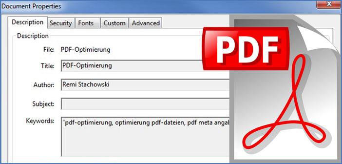 PDF SEO-Optimierung