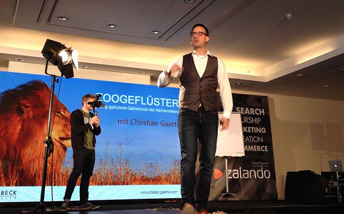 Keynote mit Christian Gaertner