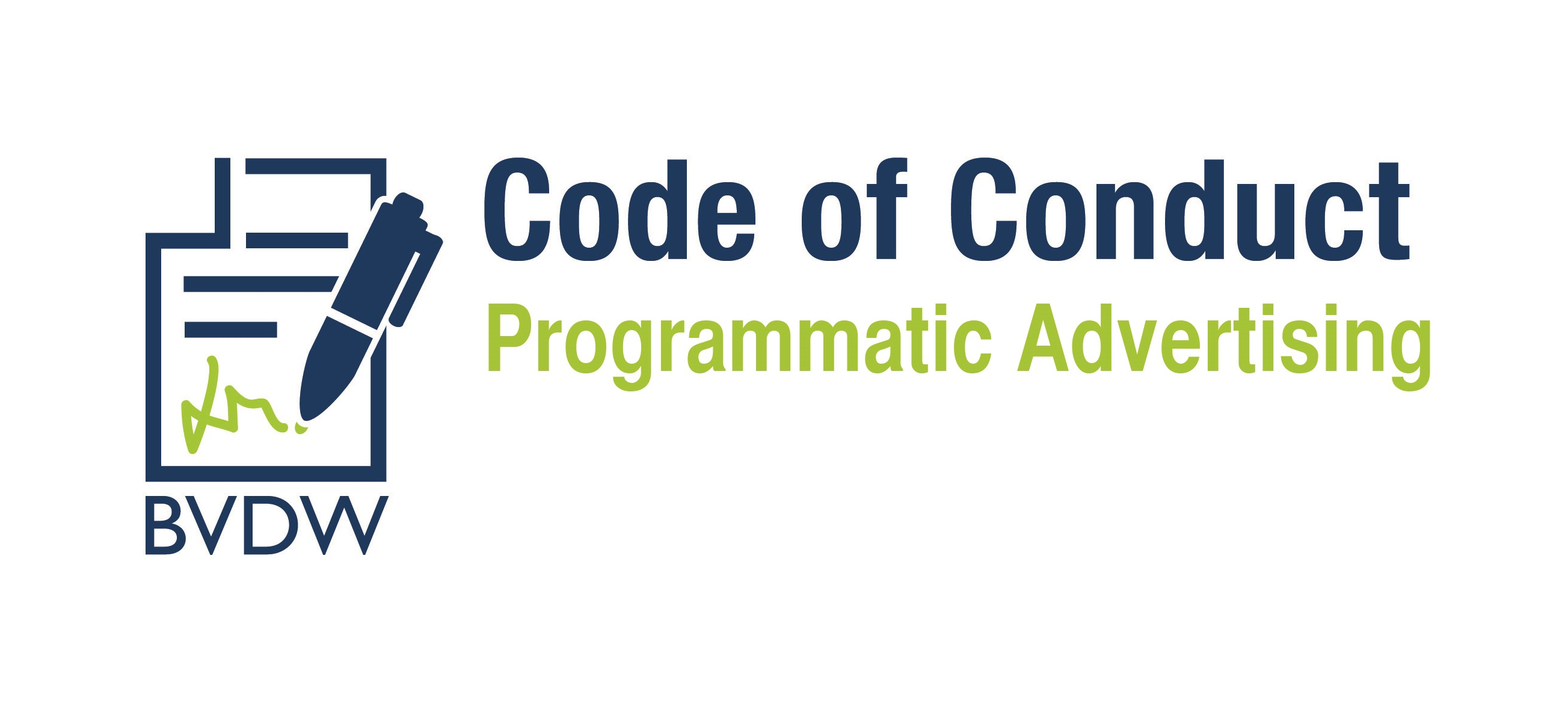 Code of Conduct Programmatic Advertising spacedealer ist beigetreten