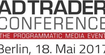 Auf der AdTrader Conference in Berlin am 18. Mai 2017