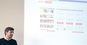 Lucas Hoffmann auf seinem Social Media Marketing Bootcamp