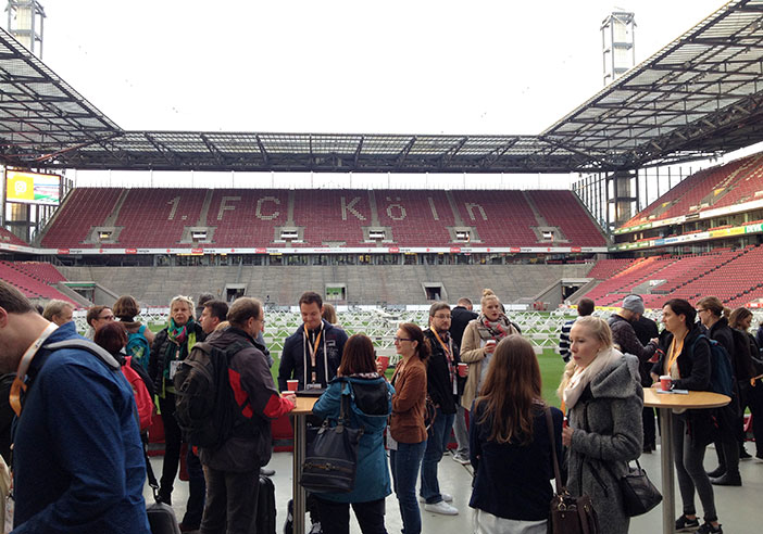 SEO-Day Location im Rheinenergiestadion