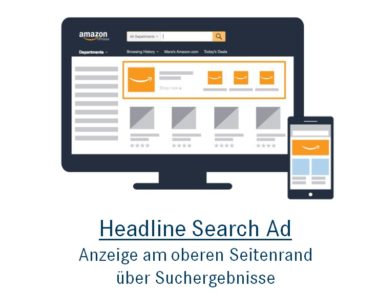 Amazon Ads: Headline Search Ad