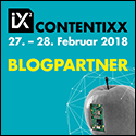 Blog Partner Contentixx 2018