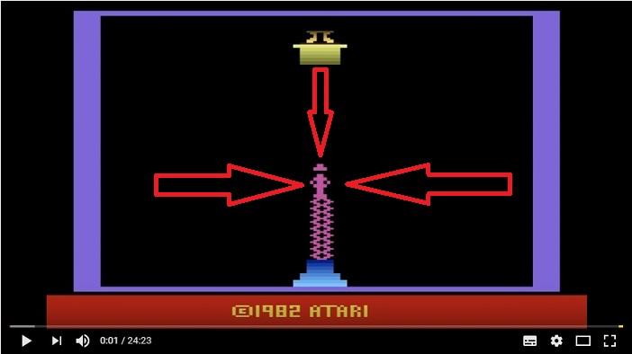 Indiana Jones auf der Atari 2600