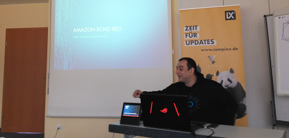 Sammy Zimmermanns Amazon Echo SEO