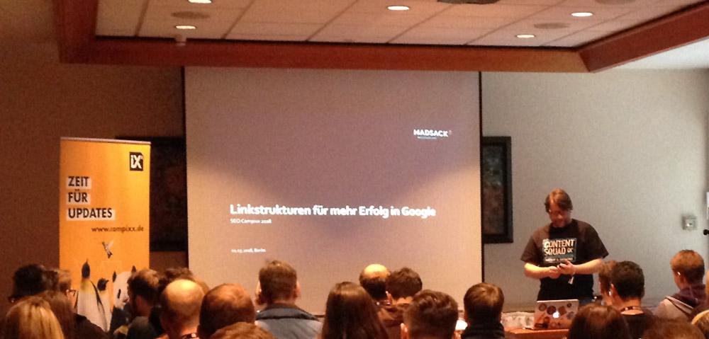Niels Dahnke - Vortrag zu Linkstrukturen