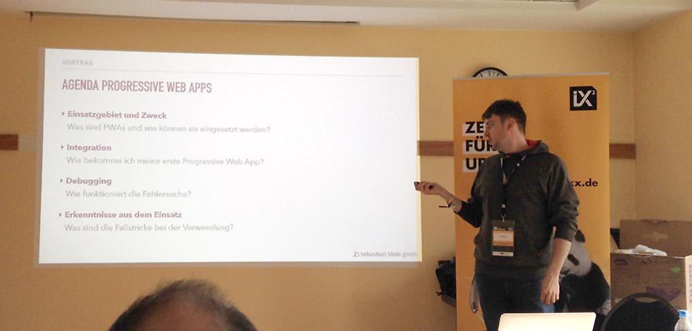 Progressive Web Apps erklärt von Sebastian Blum