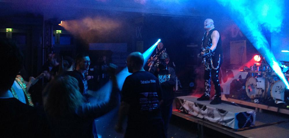 United Four - Partyband auf der SEO Campixx