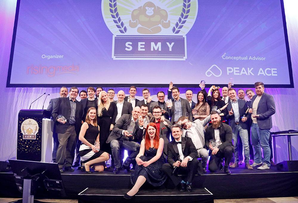 Preisverleihung SEMY Awards