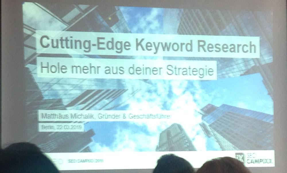 Cutting-Edge Keyword Research