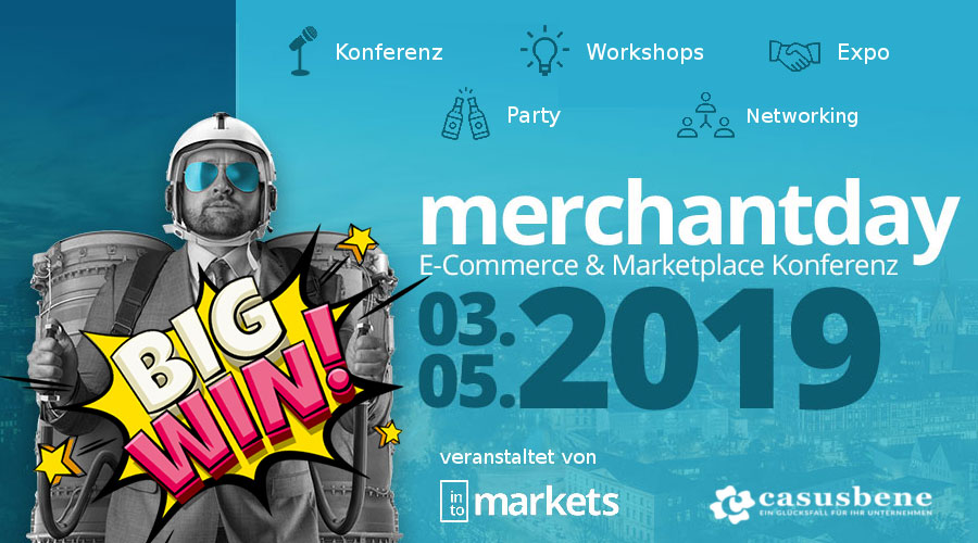 Merchantday Ticketverlosung