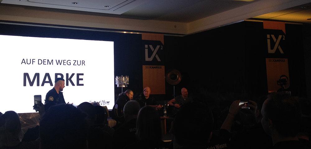 SEO Campixx Keynote mit der Band Final Four