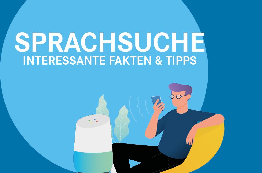 Sprachsuche Infografik - spacedealer