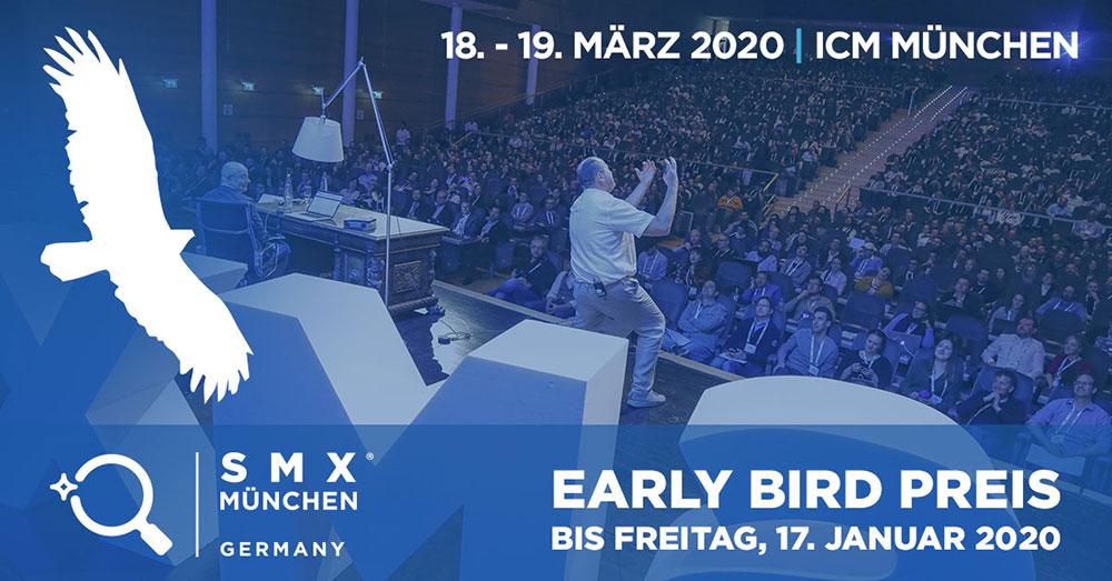 Early Bird Ticket für SMX München 2020